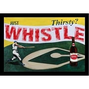 Buy Art For Less 'Thirsty? Just Whistle' by Robert Downs Graphic Art