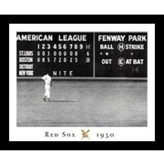 Buy Art For Less 'Red Sox - Blow Out' Framed Photographic Print