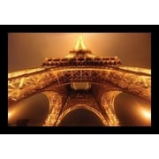 Buy Art For Less 'Below the Eiffel Tower' by Jim Zuckerman Framed Graphic Art