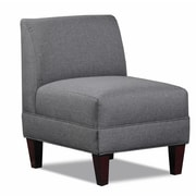 Carolina Accents Briley Side Chair; Gray