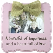 Fetco Home Decor Gaia Handful of Happiness Picture Frame