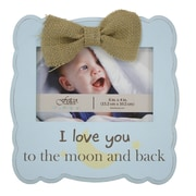 Fetco Home Decor Gaia Love You to The Moon And Back Picture Frame
