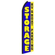 NeoPlex Storage Rv & Boat Parking Swooper Flag