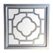 Cheungs Wood Frame Mirror w/ Wood Cutout Design