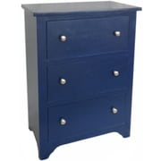 Cheungs 3 Drawer Cabinet with Knob