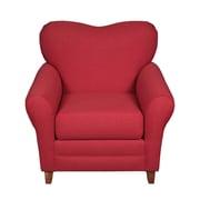 Mulberry Crossing Lexington Lounge Chair; Trojan Crimson