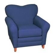 Mulberry Crossing Lexington Lounge Chair; Cavalier Blue