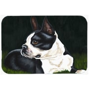 Caroline's Treasures Boston Terrier Beauty Glass Cutting Board