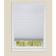 Sweet Home Collection Vinyl Room Darkening Temporary Pleated Shades (Set of 4)