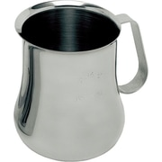 Update International Stainless Steel Frothing Pitcher; 4.75'' H x 4'' W x 4'' D