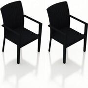 Harmonia Living Urbana Dining Arm Chair (Set of 2)