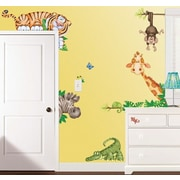 Borders Unlimited In the Jungle Super Jumbo Appliqu  Wall Decal
