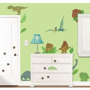Borders Unlimited In Dinosaur Land Super Jumbo Appliqu  Wall Decal