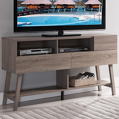 Hokku Designs Contessa TV Stand; Light Oak