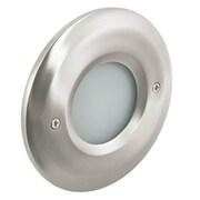 American Lighting LLC LED Step Light; Nickel