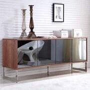 Casabianca Furniture Cuadro Buffet Table; Walnut