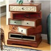 Hokku Designs Jude Contemporary Swivel Cabinet