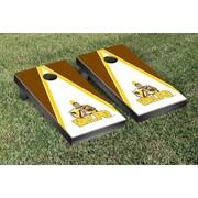 Victory Tailgate NCAA Triangle Version 1 Cornhole Game Set; Valparaiso University Valpo Crusaders