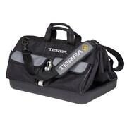 Terra – Sac à outils avec ouverture de 18 po, noir