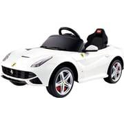 Best Ride On Cars Ferrari 12V Battery Powered Car; White by