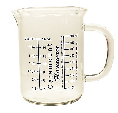 Catamount Glass 2 Cup Glass Measuring Cup WYF078278938460
