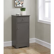 RunFine Group 15.75'' W x 32'' H Cabinet; Modern Gray