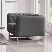Diamond Sofa Catalina Tufted Tub Chair; Grey