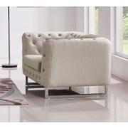 Diamond Sofa Catalina Tufted Tub Chair; Sand