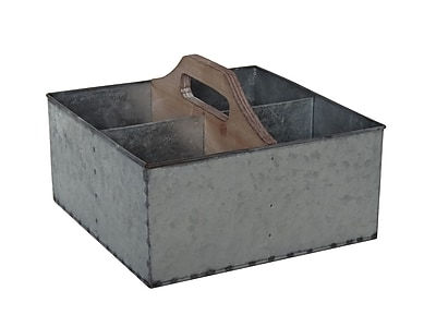 Cheungs Galvanized Storage Caddy