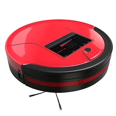bObsweep PetHair Robotic Vacuum Cleaner and Mop; Rouge WYF078278530795