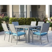 Cosco Home and Office Outdoor 7 Piece Dining Set with Cushion