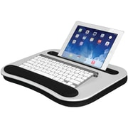 LAPGEAR 91334 Deluxe Media LapDesk™ (White Carbon)