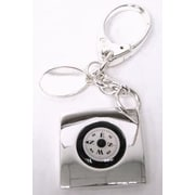 Elegance Key Chain with Compass