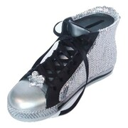 Elegance Black Shoe Money Bank