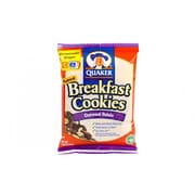 Quaker Breakfast Cookie Oatmeal Raisin 50 Ct