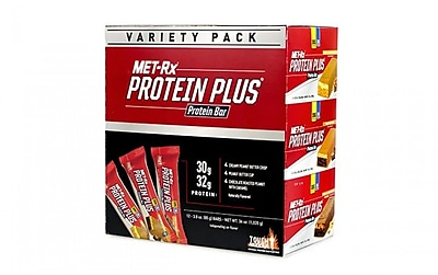 metRX Protein Plus Protein Bar Variety Pack, 3.0 oz, 12 Count 2402636