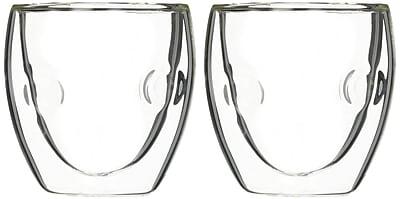 Ozeri Moderna Artisan Series Double Wall 2 oz. Shot Glass (Set of 2) WYF078279201732