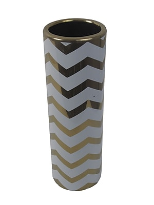 Firefly Home Collection Ceramic Vase; 13.75'' H x 4.5'' W x 4.5'' D WYF078279200641