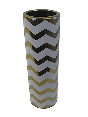 Firefly Home Collection Ceramic Vase; 15.75'' H x 5'' W x 5'' D WYF078279200642