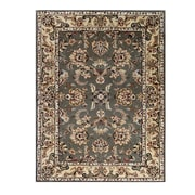 Drexel Heritage Opulance Hand-Tufted Olive Green Area Rug; 3' x 4'6''