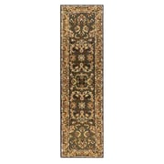 Drexel Heritage Opulance Hand-Tufted Olive Green Area Rug; Runner 2' x 7'6''