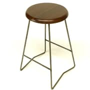 Gingko Home Furnishings Nelson 25.5'' Bar Stool (Set of 2); Medium Walnut