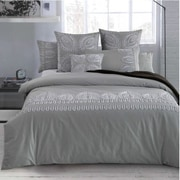 Lifestyle Bedding Solutions 7 Piece Duvet Set; King