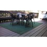 Beaulieu Hand-Tufted Olive Green Indoor/Outdoor Area Rug