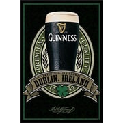 Buy Art For Less 'Guinness Beer Dublin Ireland Traditional Quality' Framed Photographic Print