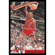 Buy Art For Less 'Michael Jordan - Sports Illustrated Dunk' Framed Graphic Art