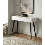 4D Concepts Black and White Home Office Desk