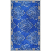 Well Woven Kings Court Blue Area Rug; 1'8'' x 5'