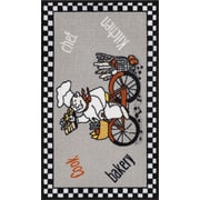 Well Woven Kings Court gray Area Rug; 3'3'' x 4'7''