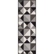 Well Woven Kings Court gray Area Rug; Runner 2' x 7'